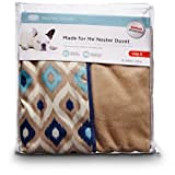 Petco Made for Me Blue Ikat Nester Duvet Dog Bed Cover