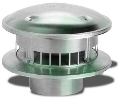 SELKIRK CORP 106800 6-Inch  Round Top