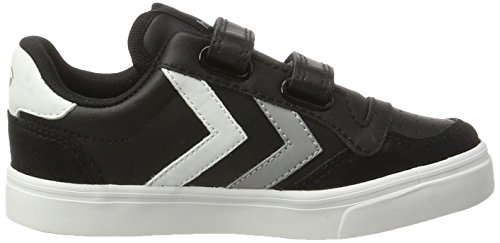 Hummel Stadil Jr Leather, Zapatillas Unisex Niños Negro (Black)
