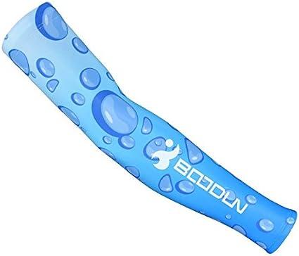 Tennis Golf Unisexe BOODUN Flycoo Anti UV Manches de Sport Refroidissement Bras de Protection de la Peau pour Le Cyclisme Randonn/ée et Activit/és en ext/érieur