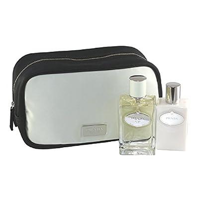 Prada Infusion D'iris By Prada For Women Eau De Parfum Spray 3.4 Oz & Body Lotion 3.4 Oz