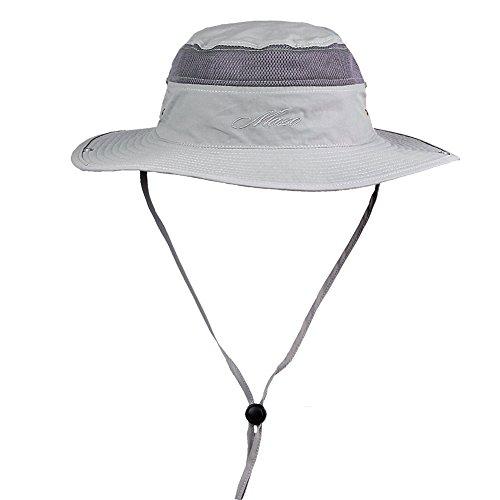 Namtso Fashion Men Women Bucket Visor Cap Safari Outdoor Camping Hiking Fishing Hunting Boating Snap Brim Hat Sun Cap Sunhat