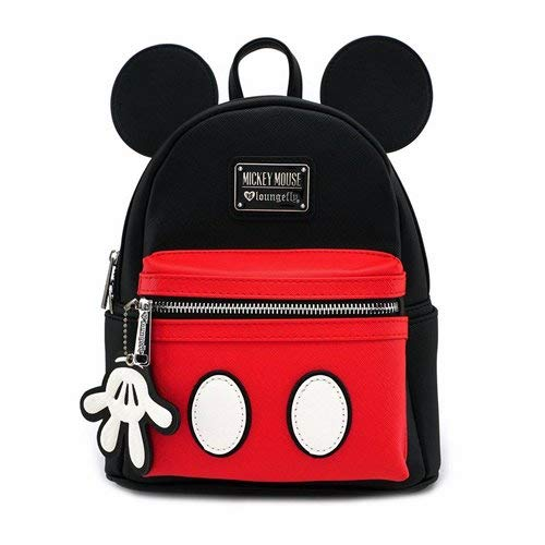 Loungefly Mickey Mouse Faux Leather Mini Backpack