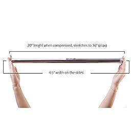 YOGABODY Naturals Yoga Trapeze Door Frame Bar Hang Your Yoga Trapeze Quickly & Easily in Most Standard Door Frames