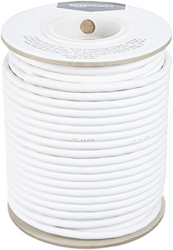 AmazonBasics 12-Gauge Speaker Wire - 99.9% Oxygen Free Copper, 200-Foot ()