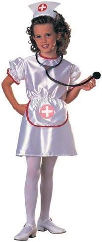 Disfraz de Médico Enfermera para niña, infantil 3-4 años (Rubies ...