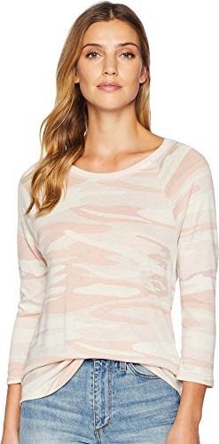 - Alternative Women's Eco Jersey Raglan Baseball Blush Camo X-Large