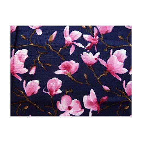 Dunkelblau Pink Boutique Ein Multicolore Mouchoir Taille Unique Magnolien Femme Taschentuch 0qYq1