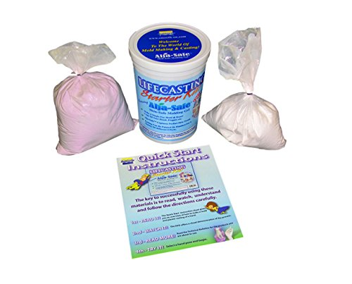 Life Casting Starter Kit With Alja-Safe Alginate