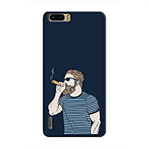 Cover It Up - High Hipster Honor 6 Plus Hard Case