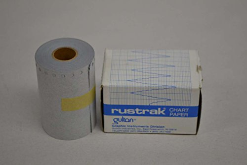 NEW RUSTRAK B-2279 CHART PAPER STYLE WA DATA ACQUISITION AND RECORDERS D354368
