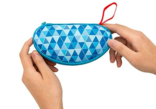 ZIPIT Colorz Box, Glasses Case, Blue Photo #3
