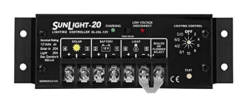 Morningstar SunLight Charge Controller SL-20L-12V