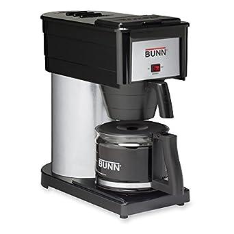 BUNN BUN383000020 BX-B Sprayhead Coffee Maker, Stainless Steel