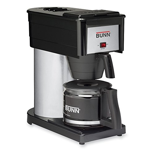 BUNN BUN383000020 BX-B Sprayhead Coffee Maker, Stainless Steel