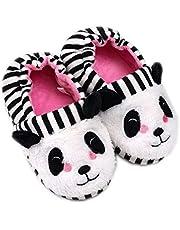 Csfry Baby Girls Animal Winter Slippers