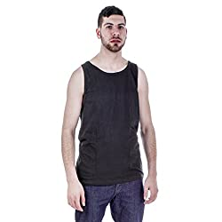 North Pole Mens Solid tank top A shirt XX Large, Red