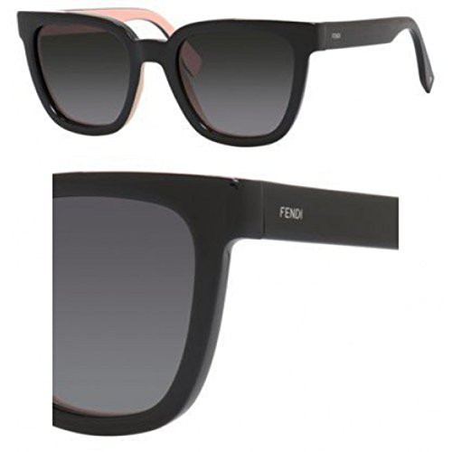 Sunglasses Fendi 121/S 0MG1 Black Pink / HD gray gradient - Black Fendi