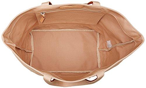 Vanessa Bruno Damen Cabas Medium + Coton Et Paillettes Tote, 18x33,5x49 centimeters Beige (Chair/Ocre)