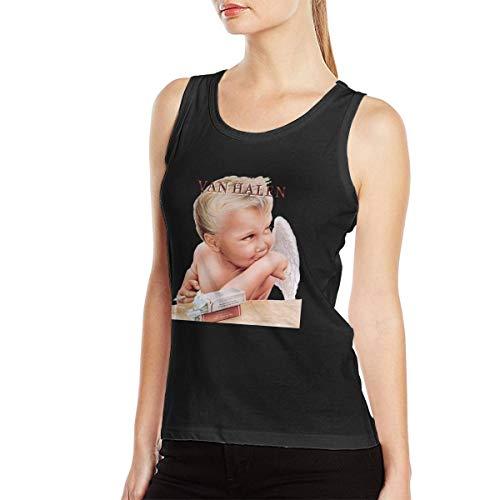 Van Halen Baby Smoking 1984 Tank Top for Women. S to XXL