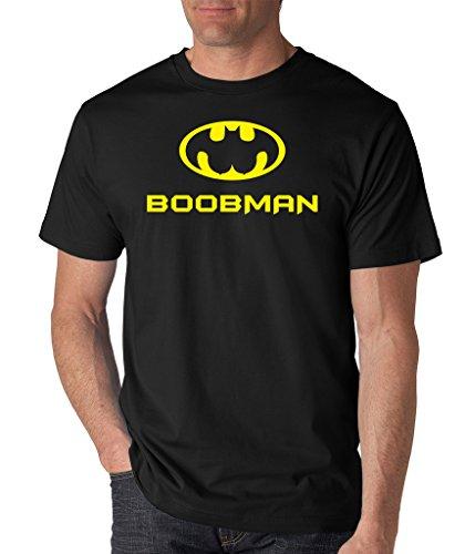 SignatureTshirts Men's Boobman T-Shirt 3XL Black