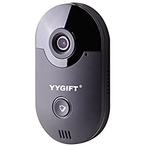 YYGIFT Smart Video WiFi Doorbell Remote Access See Who's At...