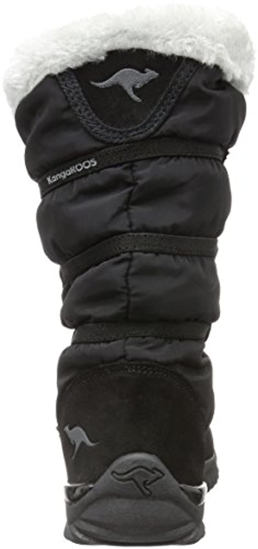 KangaROOS Unisex Kids' Puffy Iii Ankle Boots, Black-Schwarz (Black 500), 1