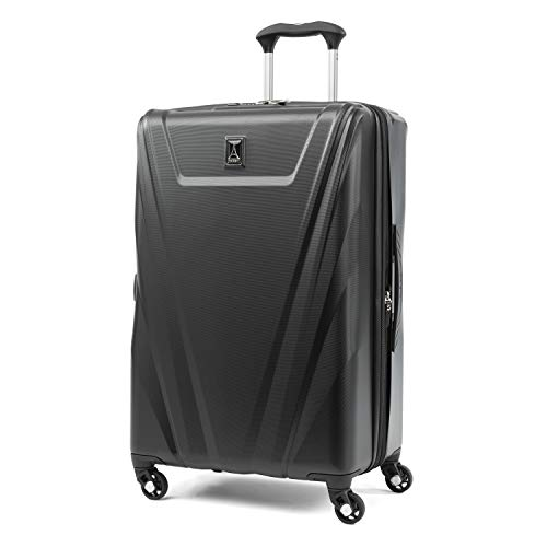 (Travelpro Expandable Checked-Medium, Black)