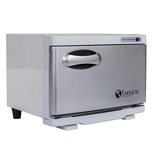 Earthlite Mini Calentador de Toallas Calientes, Perfecto para tu baño de SPA, esterilizador UV 2 en 1 y Calentador de...