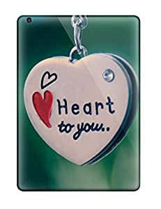 New Arrival Cover Case With Nice Design For Ipad Air My Heart Belongs To You Pendent