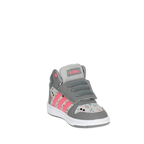 Chaussons Rostiz I Gridos Mid Gritre 0 adidas Mixte 000 2 Gris Bas Hoops bébé CIPqxwX