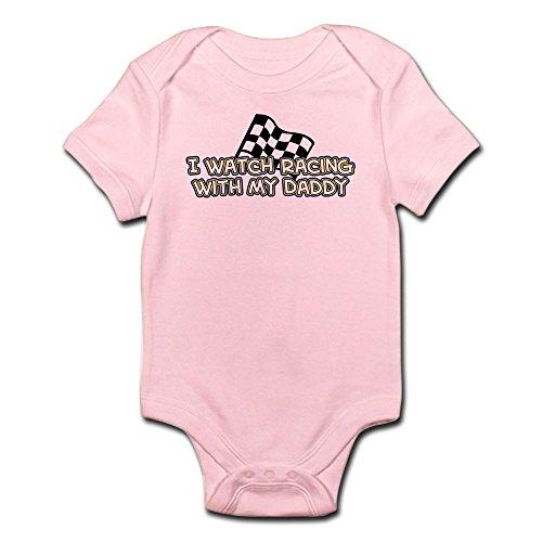 CafePress 48 Racing Daddy Infant Bodysuit - Cute Infant Bodysuit Baby Romper