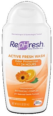 (RepHresh Active Fresh Feminine Wash 8.5 oz (Pack of 2))