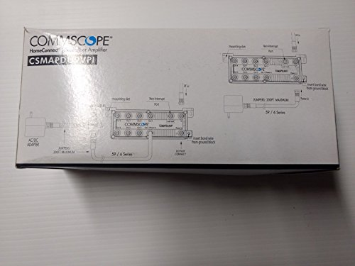 Xfinity// Comcast Commscope HomeConnect Subscriber Amplifier Brand New