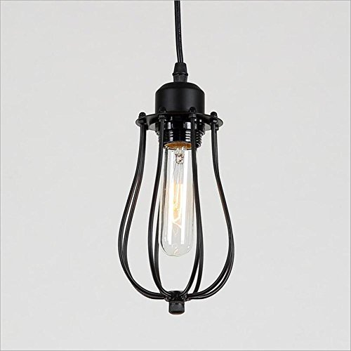 SHIYANLI Chandelier Industrial Retro Pendant Lamps American Country Light Bar Coffee Shop Simple European Style Chandelier Interior Chandelier Citron Pendant Lamp Chandelier ()