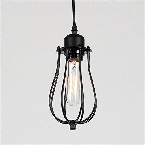 (TUNBG Industrial Retro Pendant Lamps American Country Light Bar Coffee Shop Simple European Style Chandelier Interior Chandelier Citron Pendant Lamp)