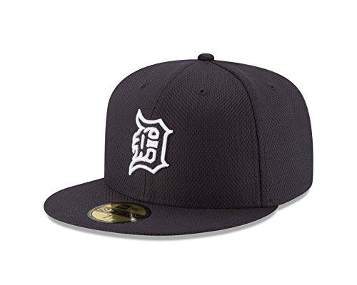 MLB Detroit Tigers Men's Diamond Era 59FIFTY Cap, 7.125, Blue