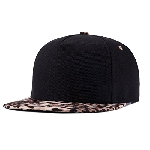 Amlaiworld-Embroidery-Cotton-Baseball-Cap-Snapback-Caps-Hip-Hop-Hats-schwarz