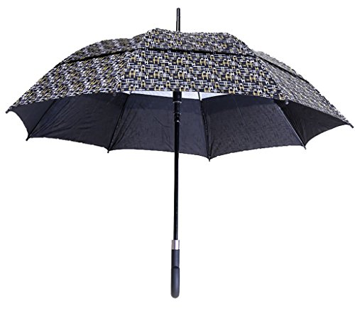 Generic Large-size Travel Umbrella Size 60inch Color Black by Generic