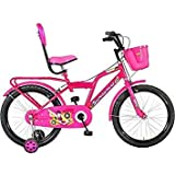 Global Spider 20T for Kids Age 7 to 12 Years Fully Adjustable with Back Carrier Bicycle