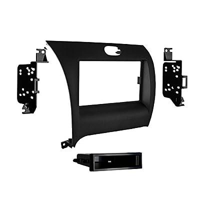 Metra 99-7356B Single DIN Installation Dash Kit for Kia Forte (Black): Car Electronics