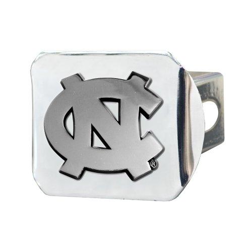 Fanmats 15052 NCAA UNC University of North Carolina - Chapel Hill Tar Heels Chrome Hitch Cover