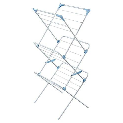3 Tier Indoor Drying Rack - White
