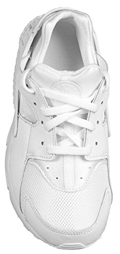 Nike Huarache Run (GS), Zapatillas de Running Para Niños Blanco