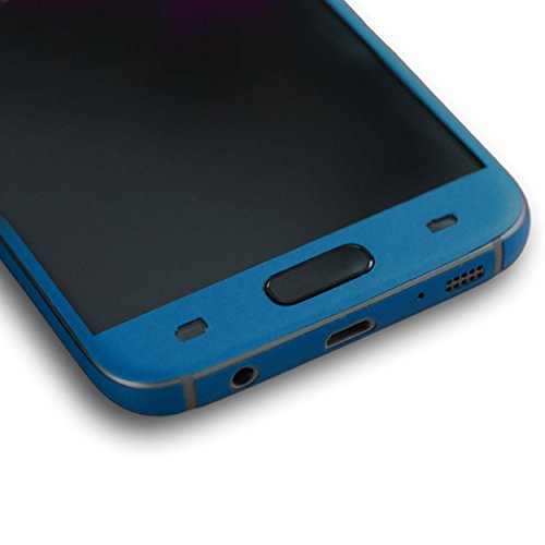 AppSkins Folien-Set Samsung Galaxy S7 Color Edition blue
