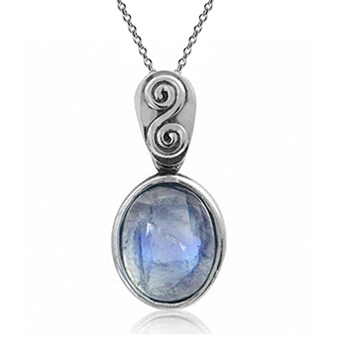 natural-moonstone-925-sterling-silver-swirl-spiral-solitaire-pendant-w-18-inch-chain-necklace