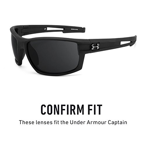 Under Opciones Captain Lentes Armour — repuesto Gris de múltiples Adapt Elite Fotocromático para wwRgx