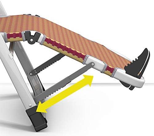 GXYAS Chaise de bureau pliante réglable en plein air, chaise longue, chaise pliante