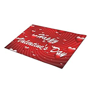 KanKan Outdoor Mats Valentines One size