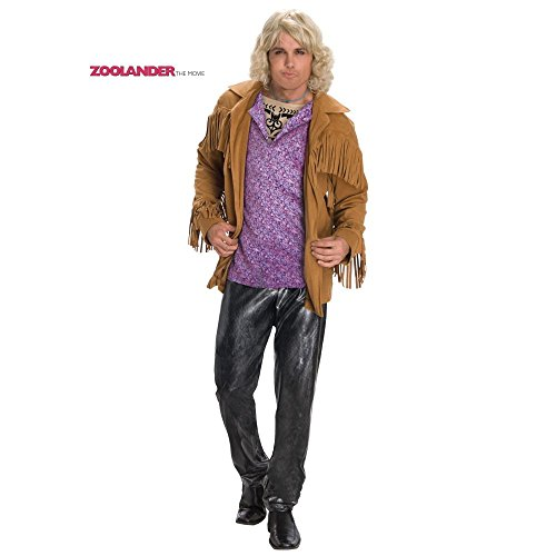 Hansel Zoolander Costume, Multi, Standard